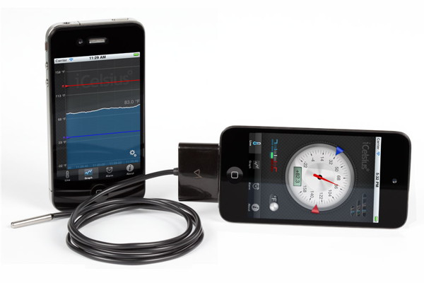 iCelsius termometer for iPhone og iPad